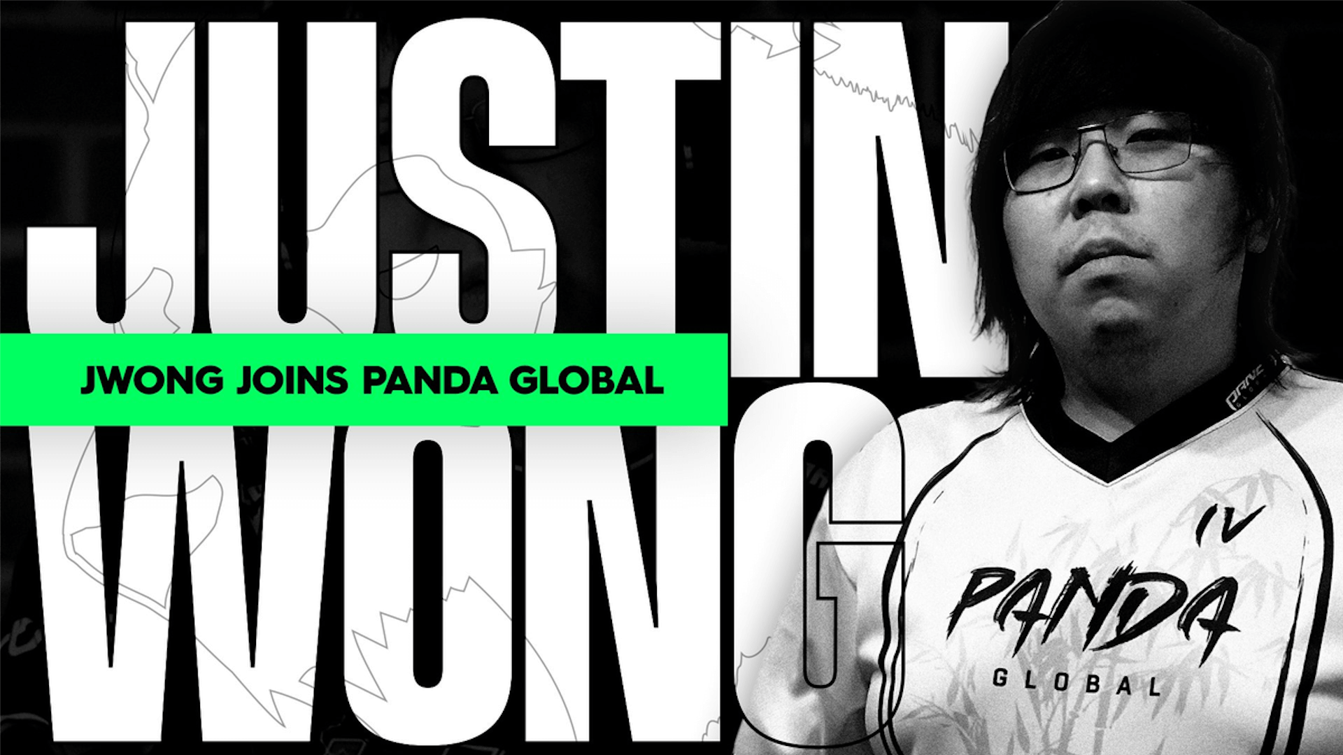 "Panda Global signs Justin ""JWong"" Wong as a Content Creator"