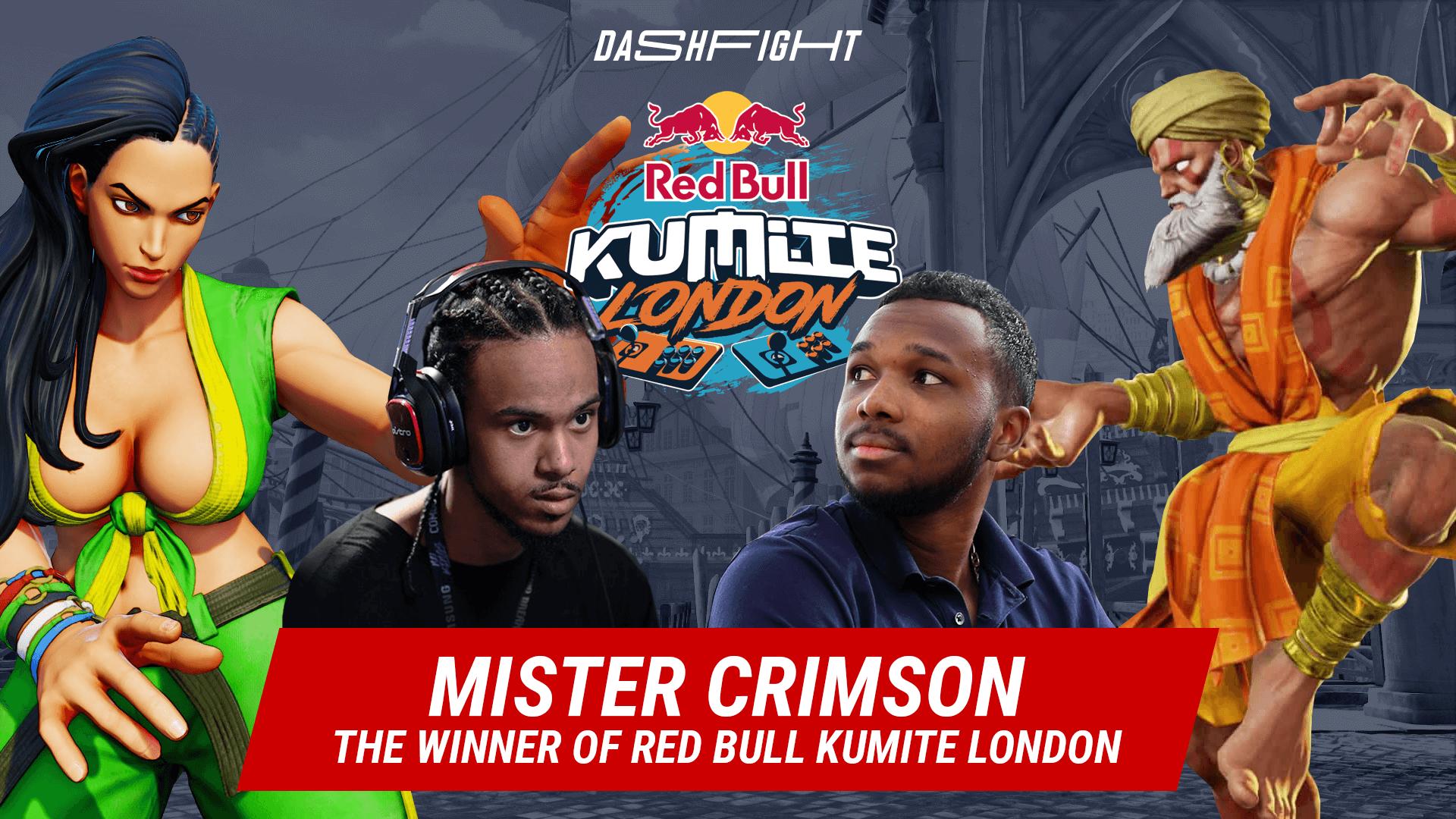 Mister Crimson Wins Red Bull Kumite London