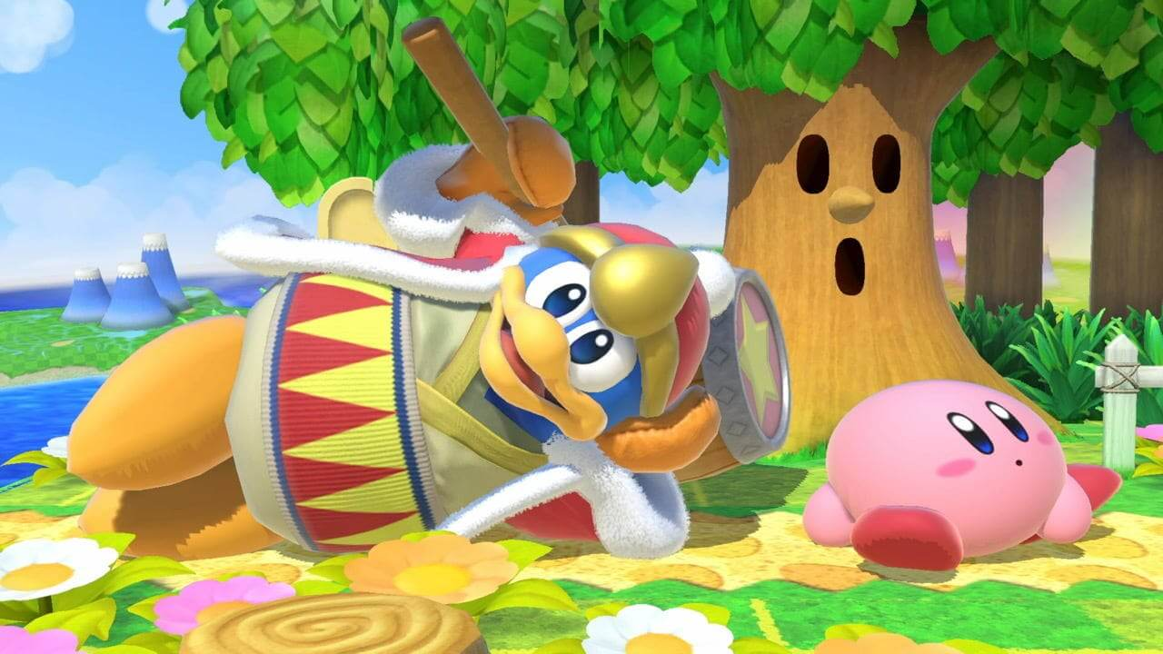 King Dedede and Kirby