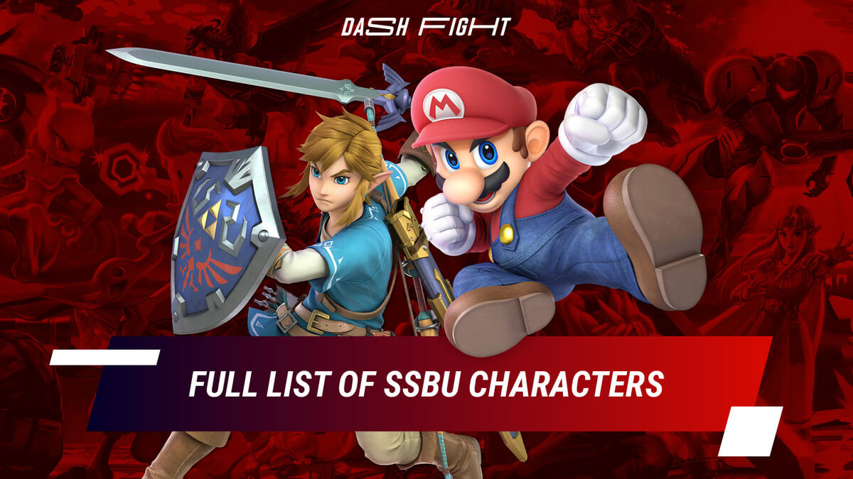 Full List of Super Smash Bros. Ultimate Characters