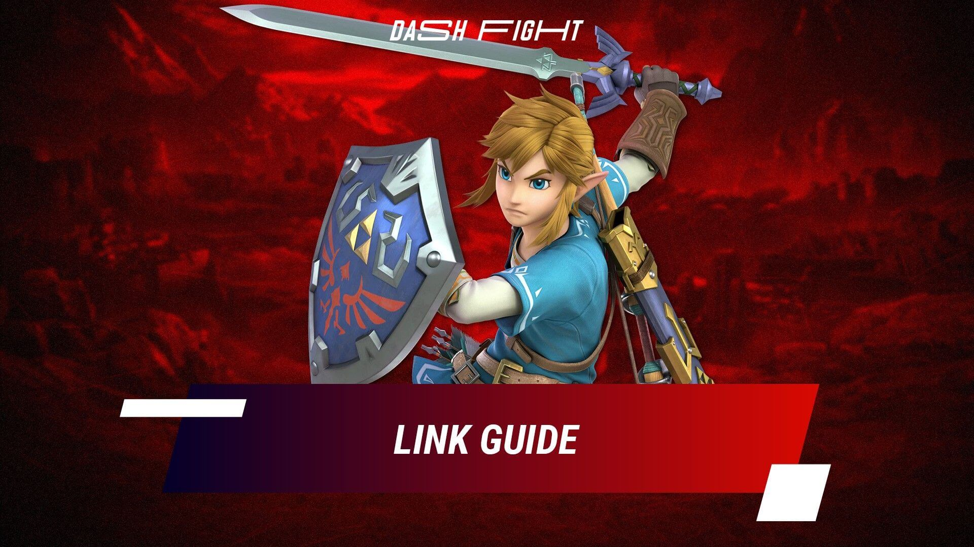 Smash Ultimate: Link Guide - Combos and Move List