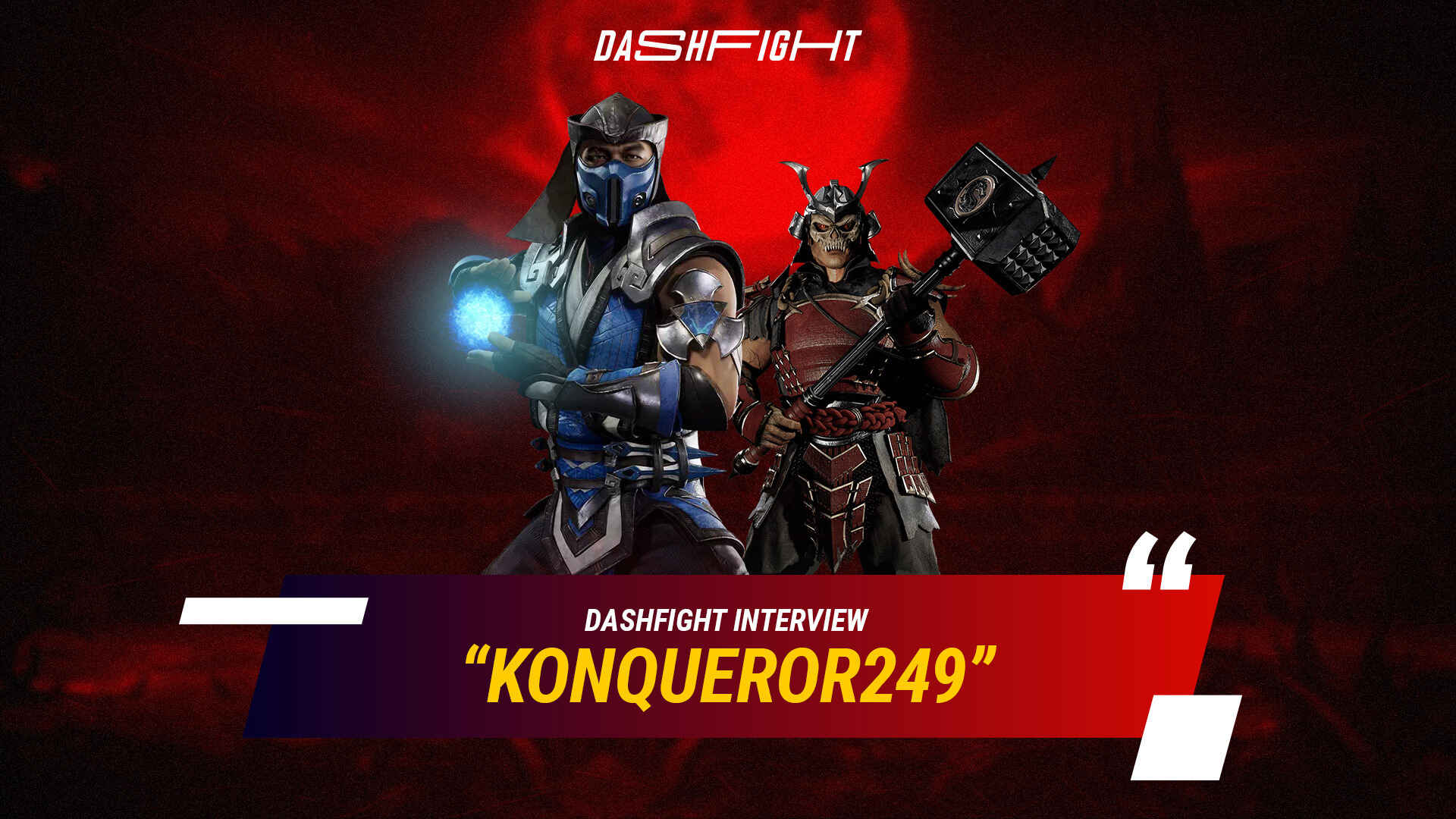 DF Interview: Konqueror249, the Best MK11 Player of Latin America