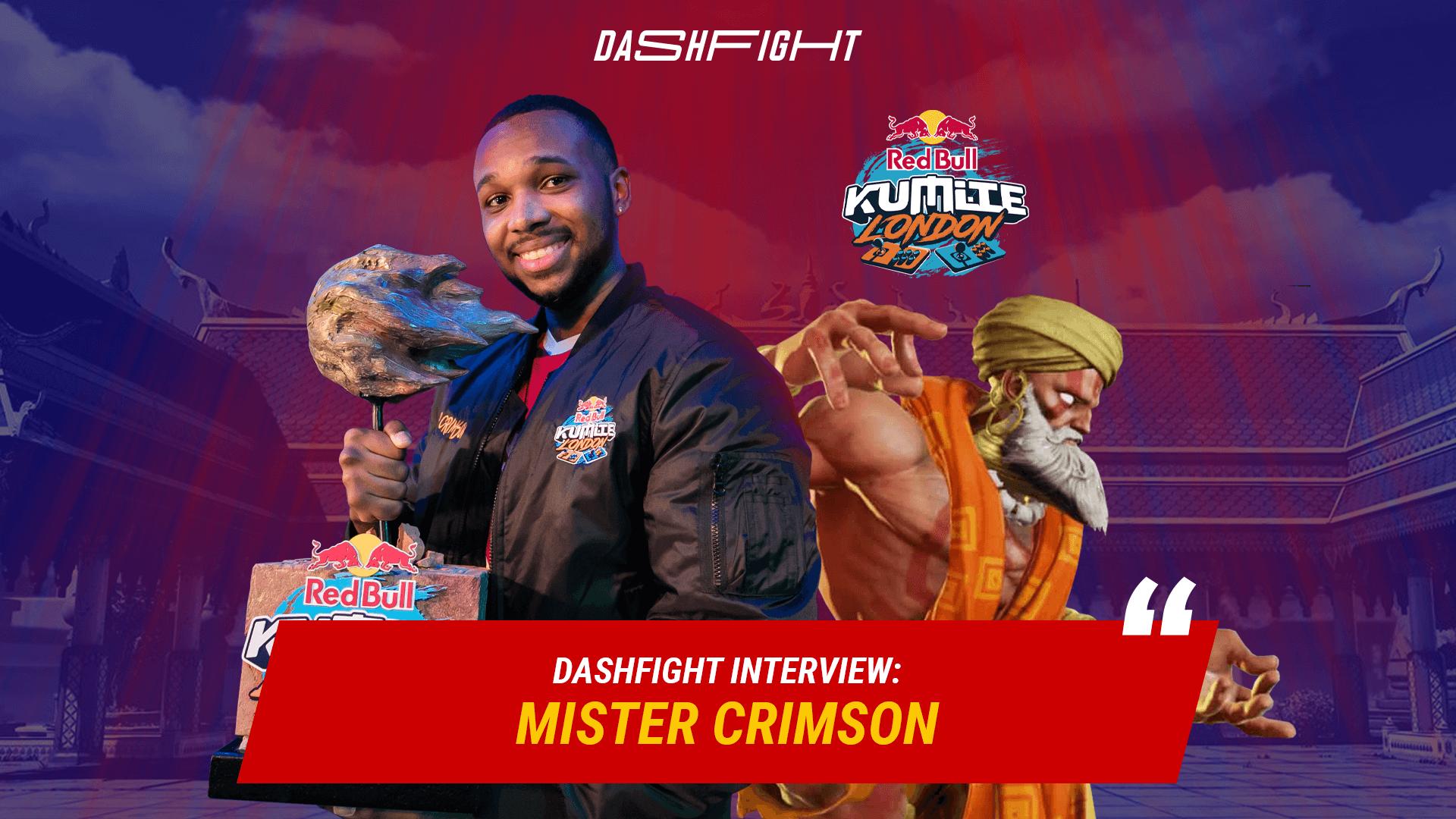 """Mister Crimson Interview: """"I had no right to lose"""""""