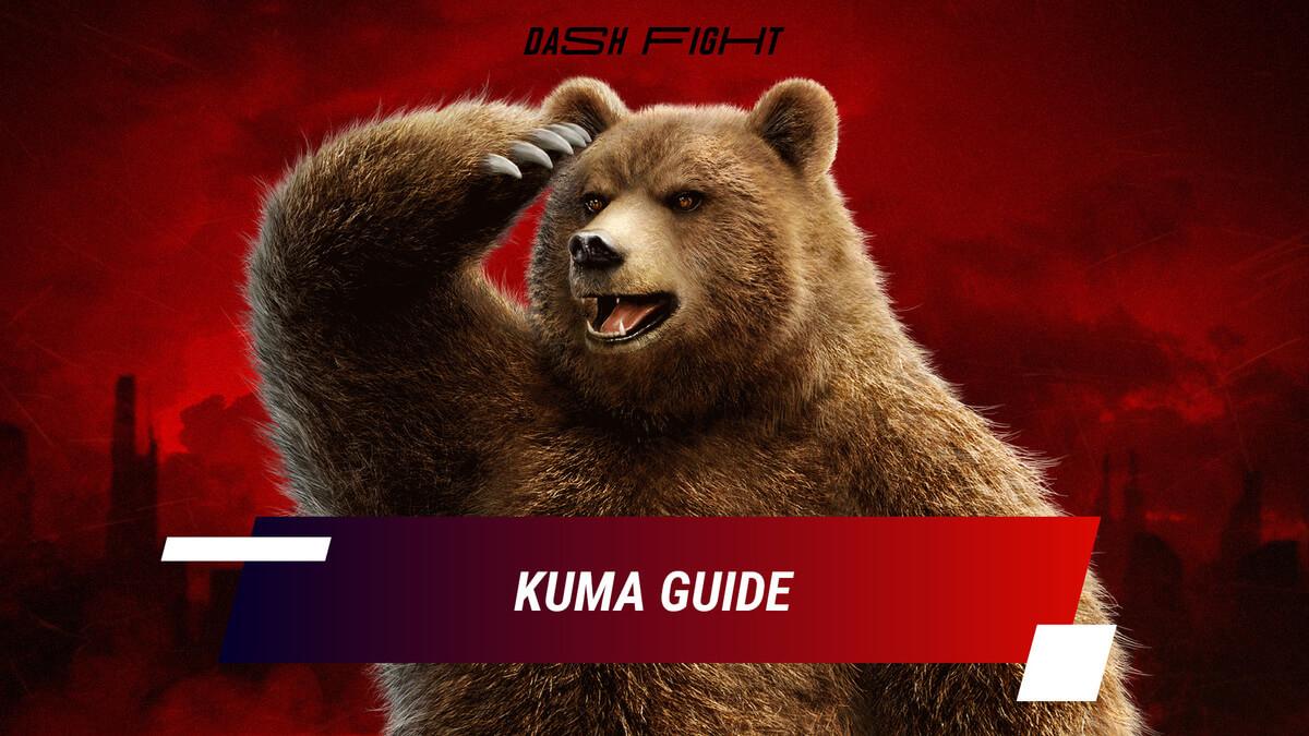Tekken 7: Kuma/Panda Combos and Move List