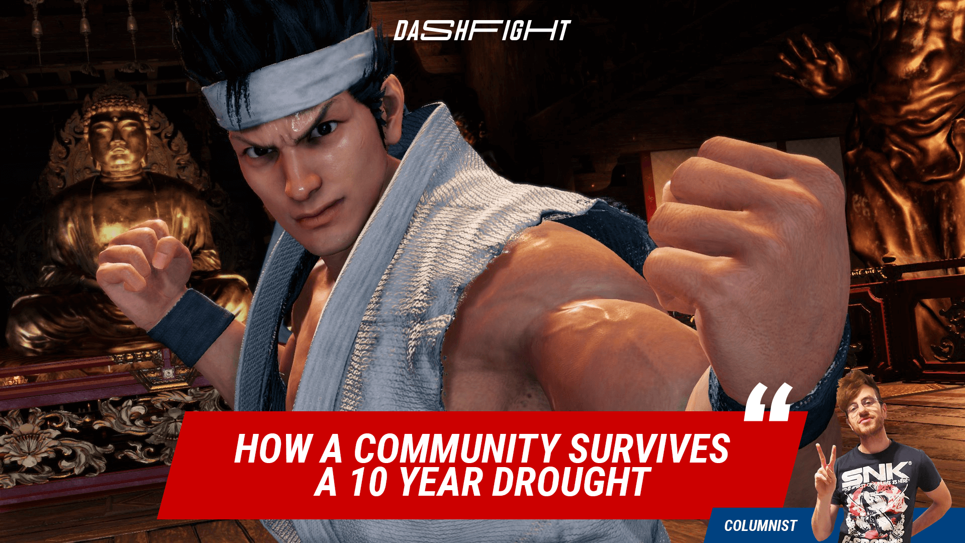 Virtua Fighter 5: How A Community Survives A 10 Year Drought