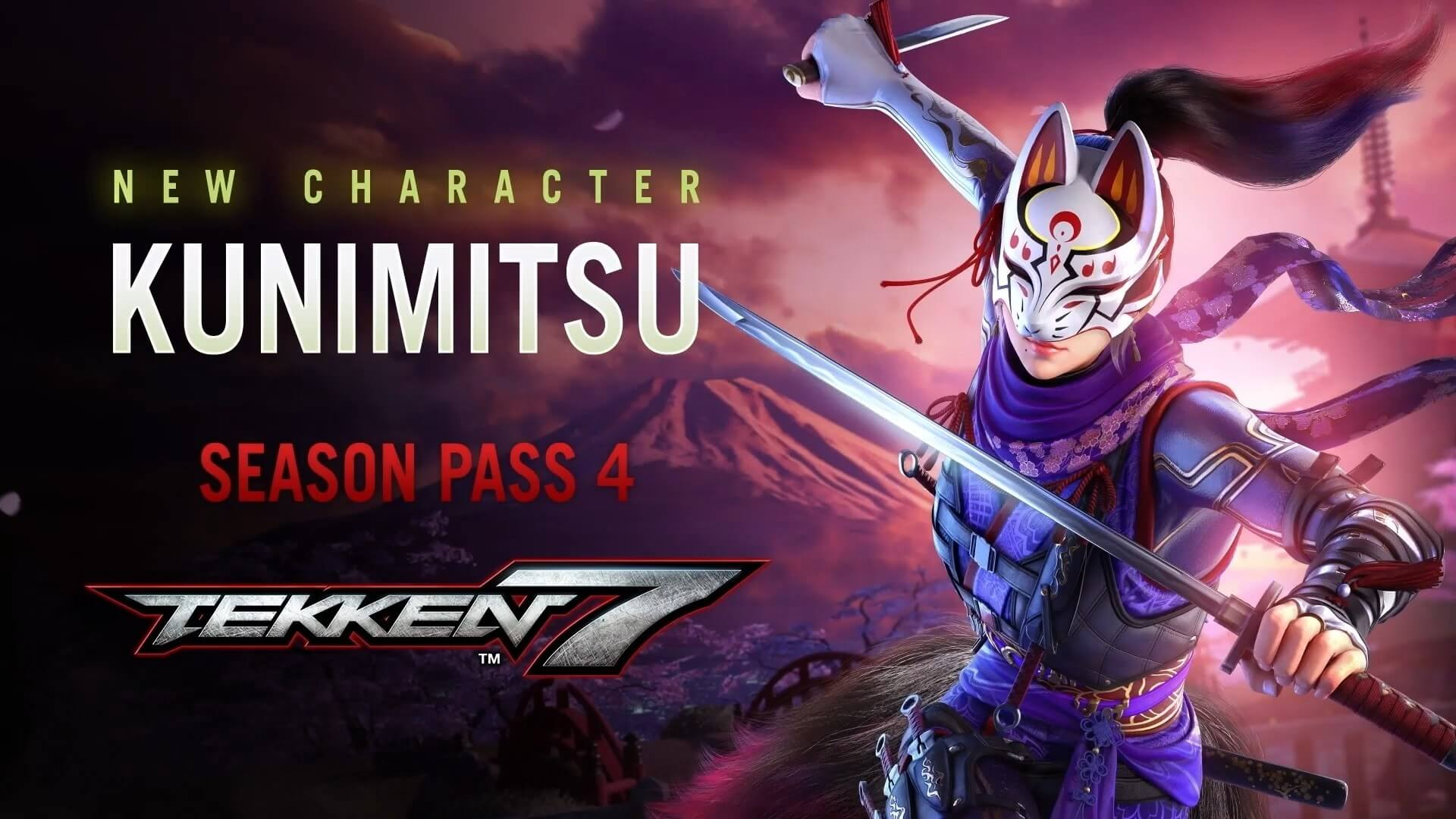 In Tekken 7 there were optimized 4 characters including Kunimitsu