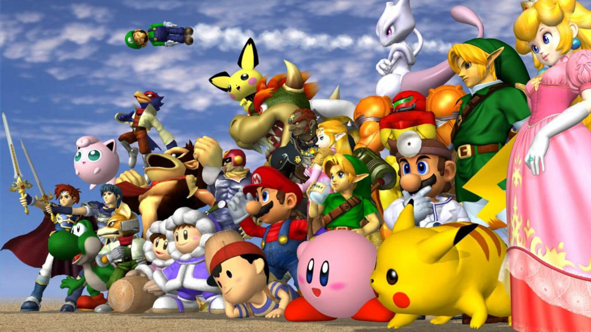 Gamers wait for announcement of update to Super Smash Bros. Ultimate