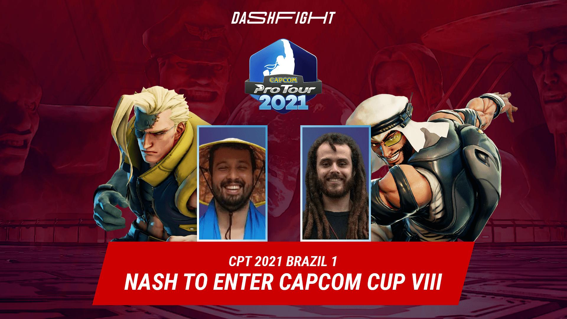 CPT 2021 Brazil 1: Nash to Enter SFV Capcom Cup VIII