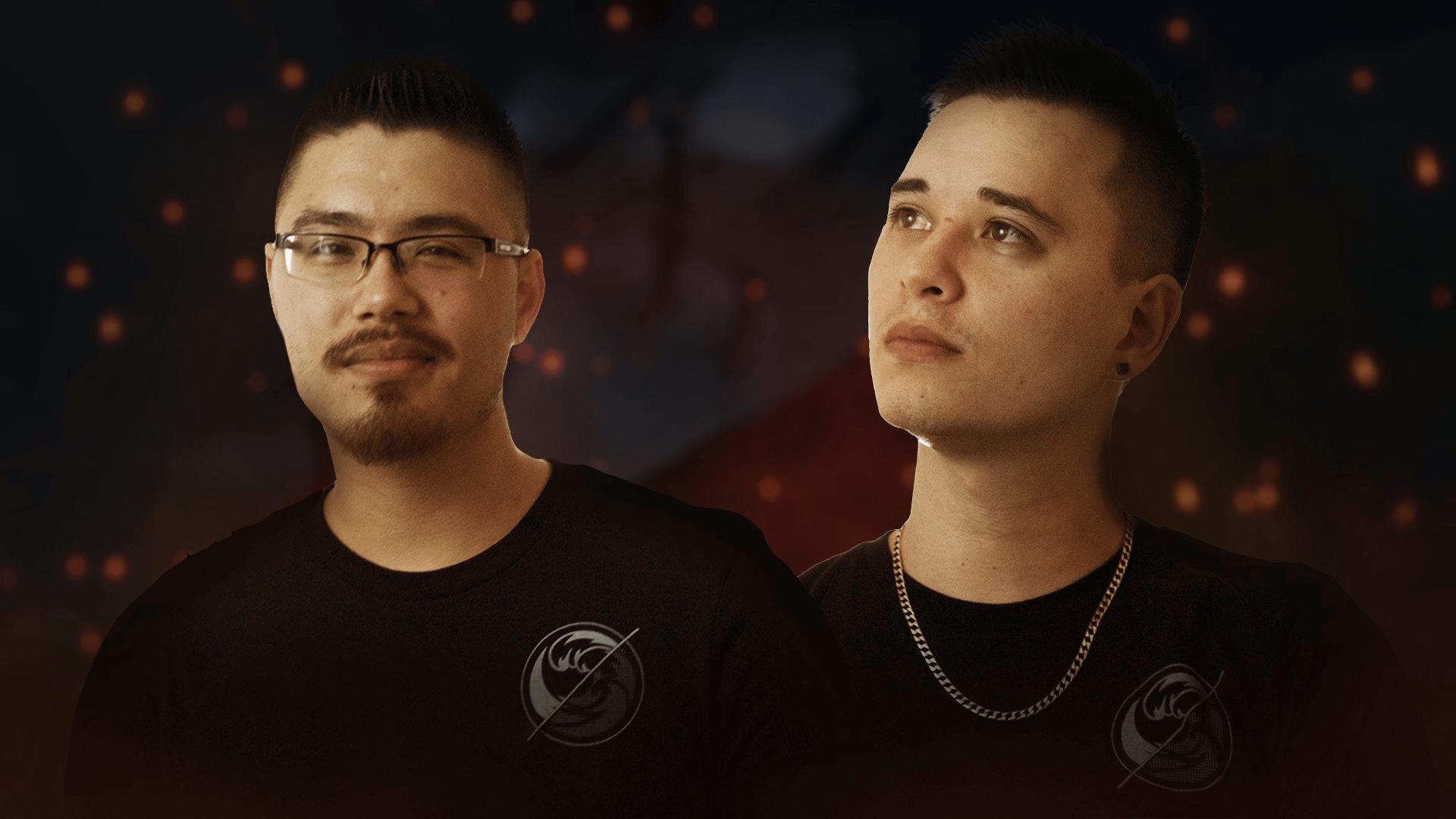 Mortal Kombat 11 pro players: brothers Biohazard and HoneyBee