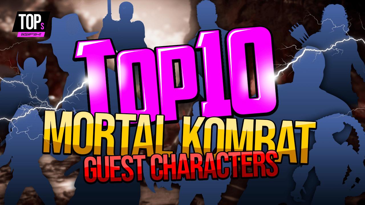 Top 10 Best Mortal Kombat Guest Characters