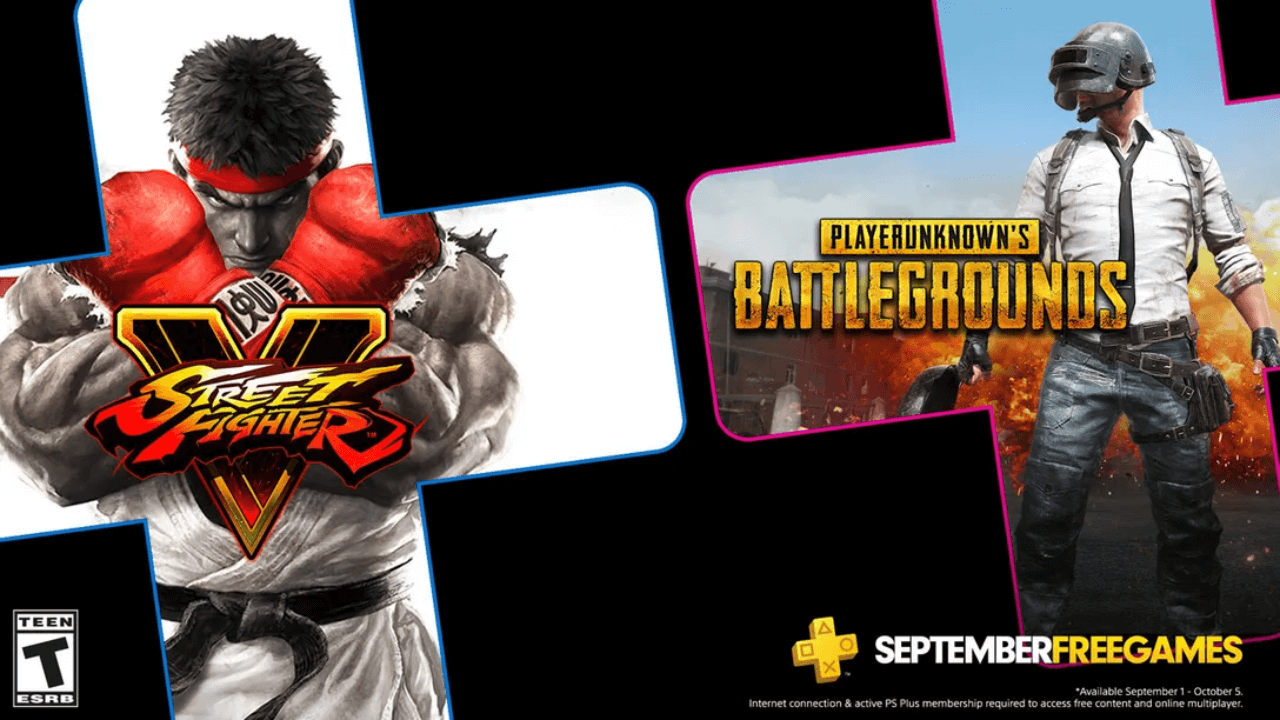 Street FIghter 5 is Free on PlayStation Plus