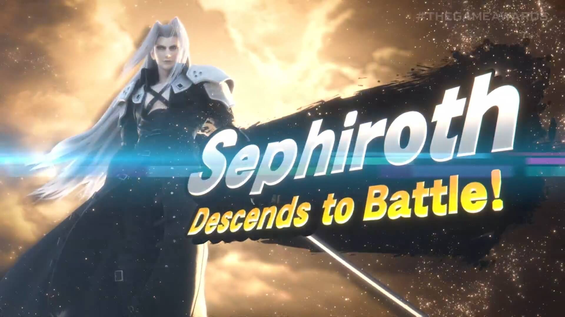 Sephiroth announced as the latest Super Smash Bros. Ultimate Character