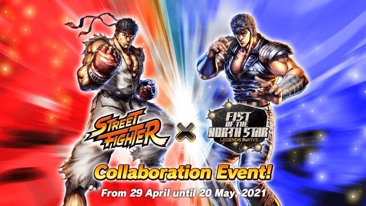Street Fighter Characters Join Fist of the North Star
