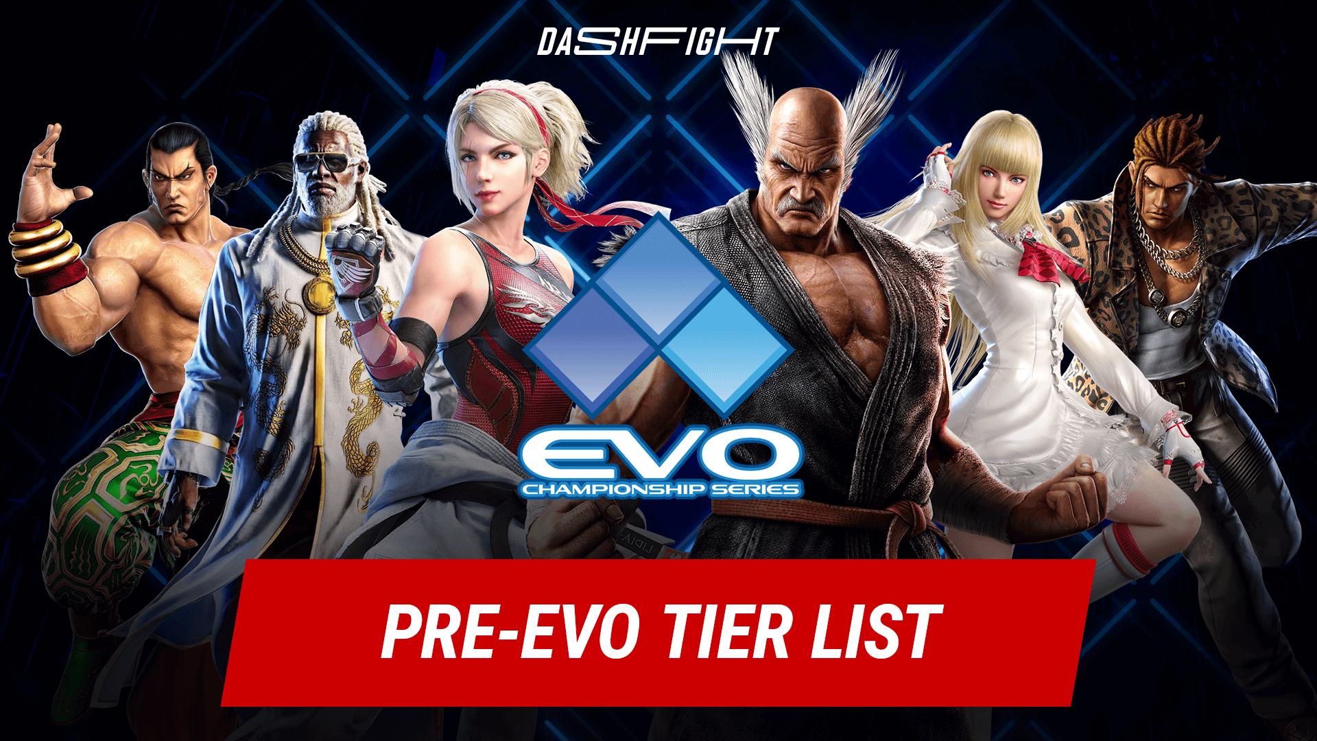 Tekken 7 Pre-Evo Tier List