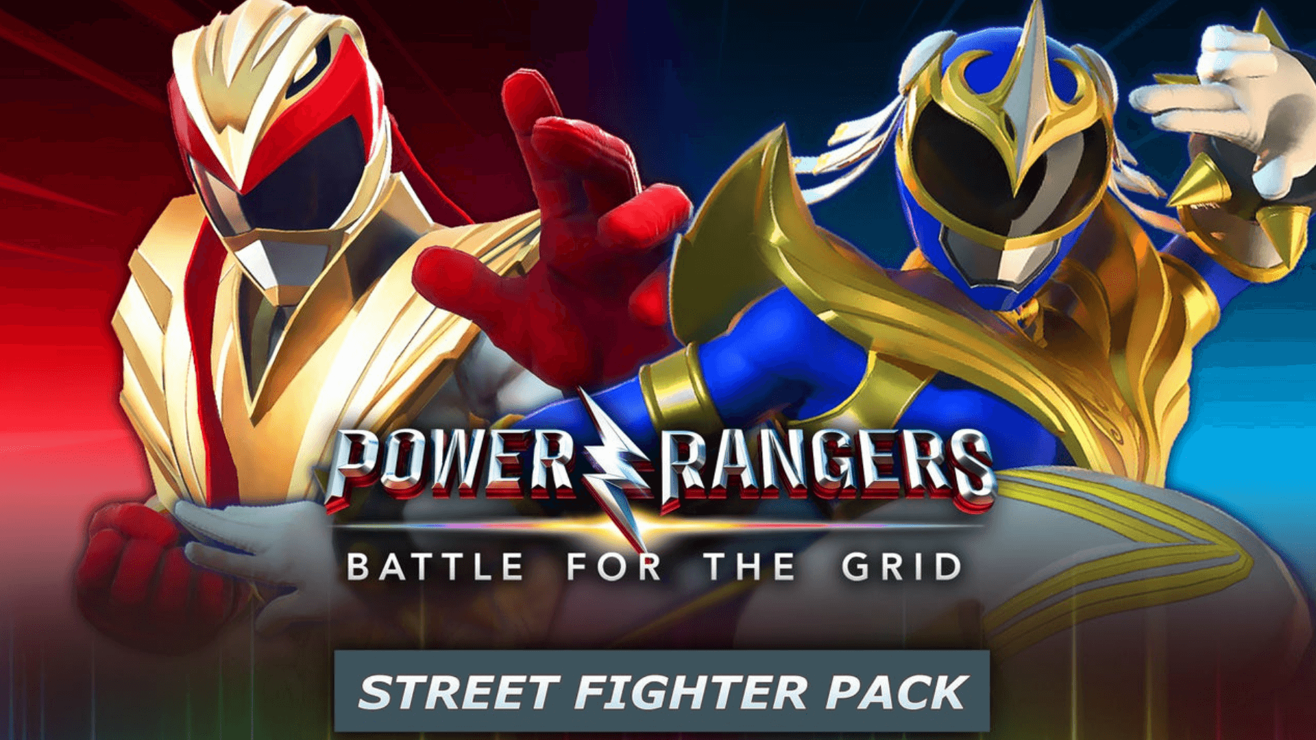 Ryu and Chun-li Join the Grid In New Power Rangers Update