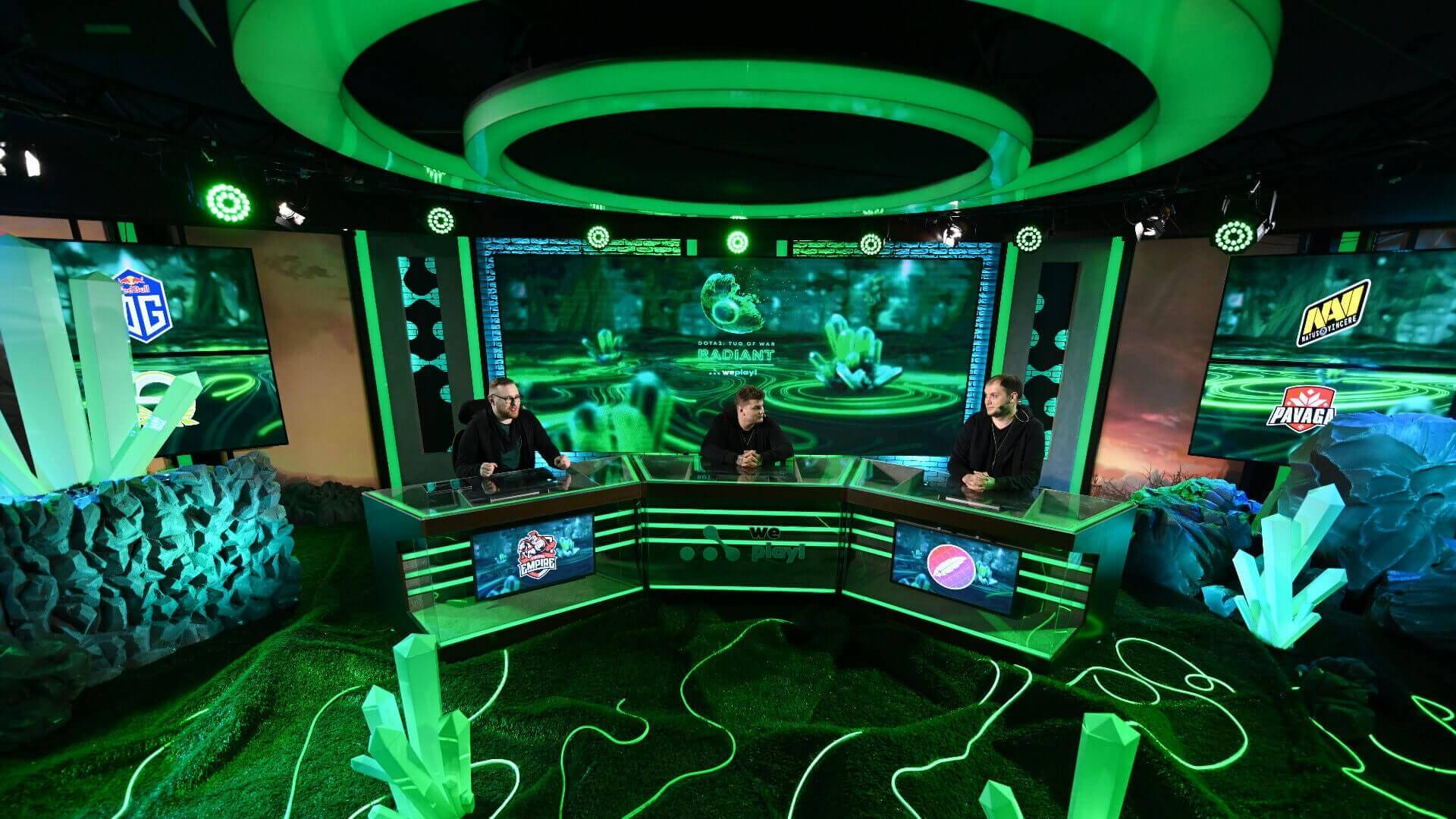 WePlay! Dota 2 Tug of War: Radiant studio