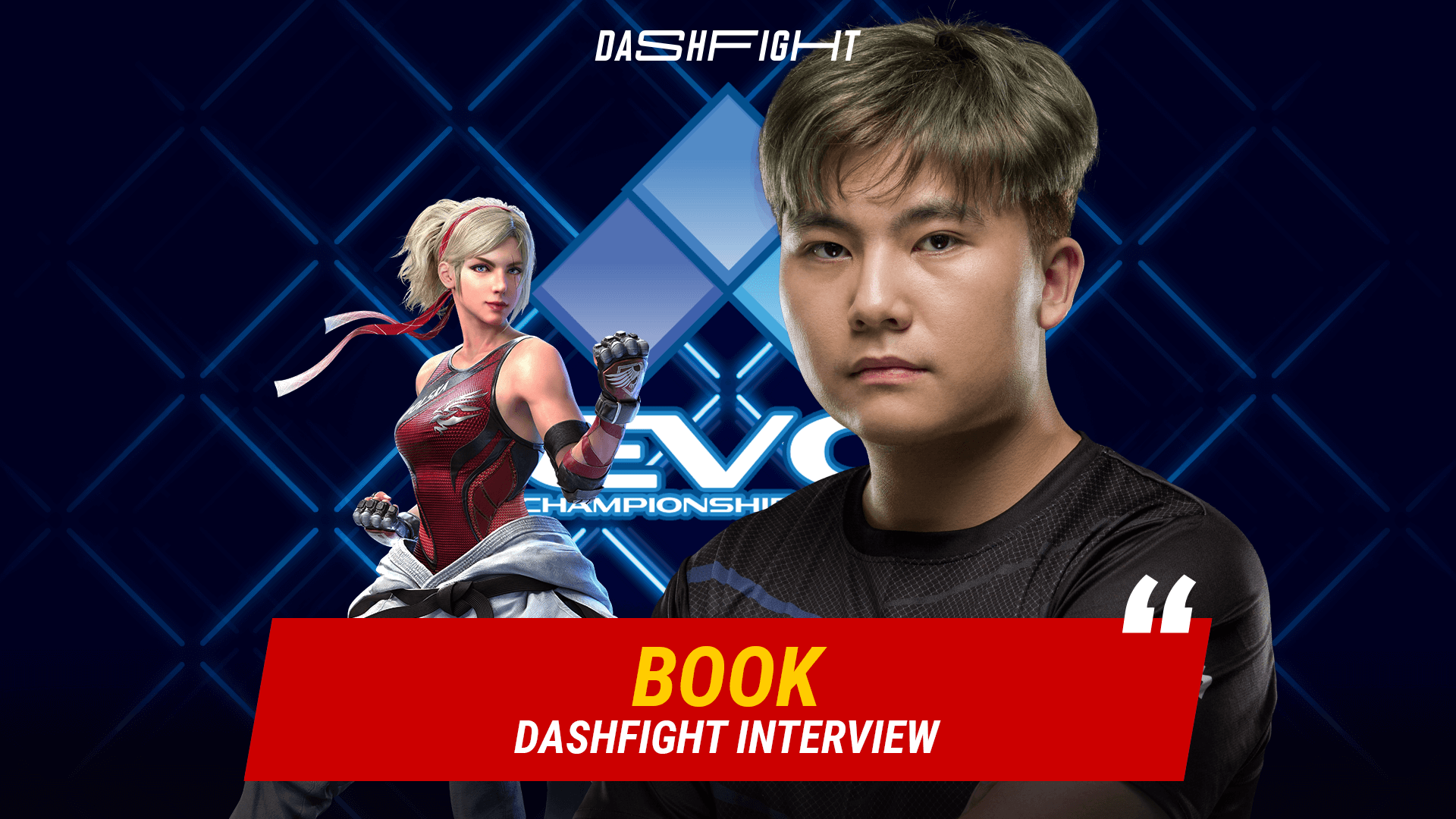 DashFight Interview With Book After Evo 2021 Online
