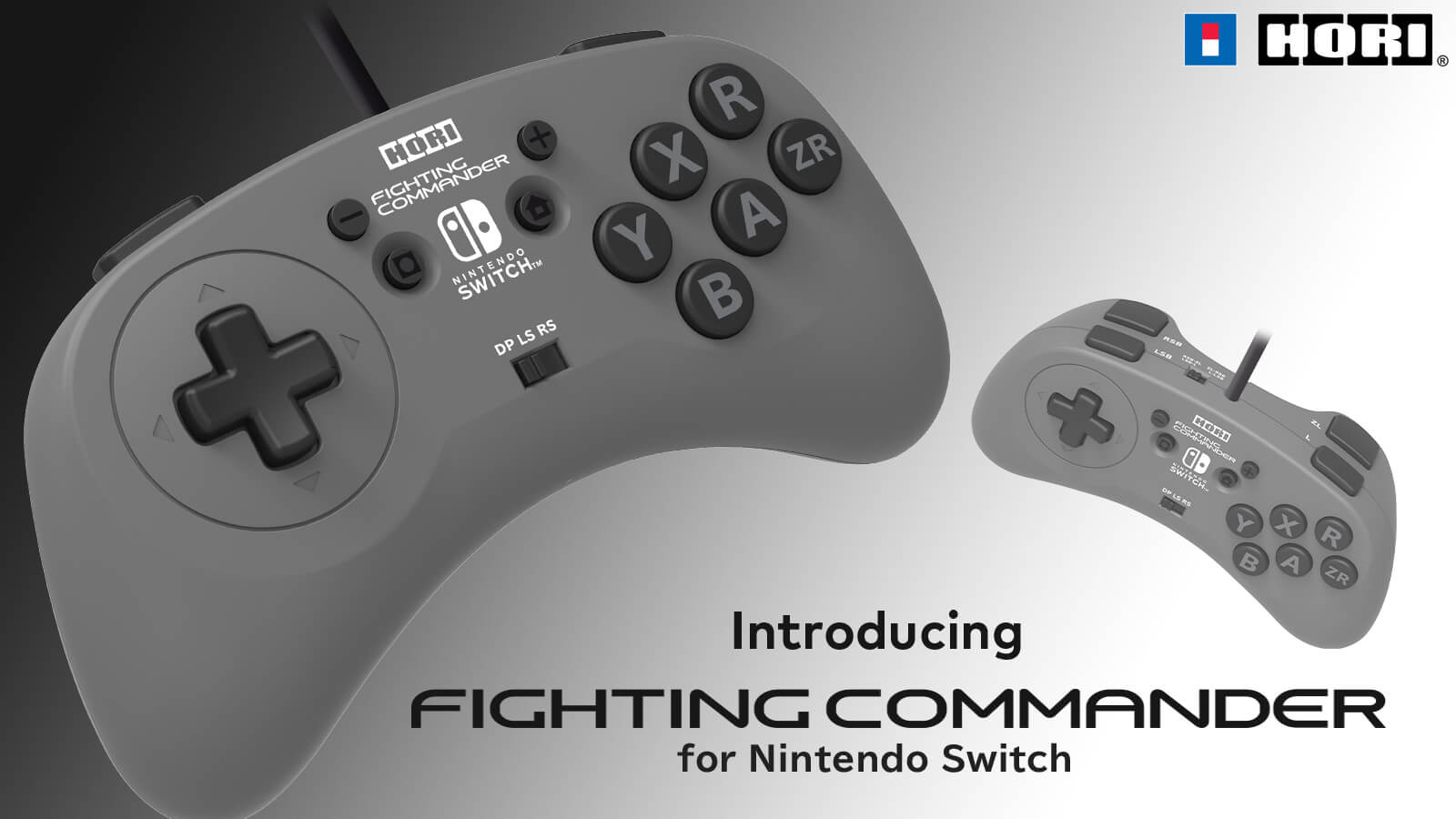 HORI Releases The Fighting Commander for Switch