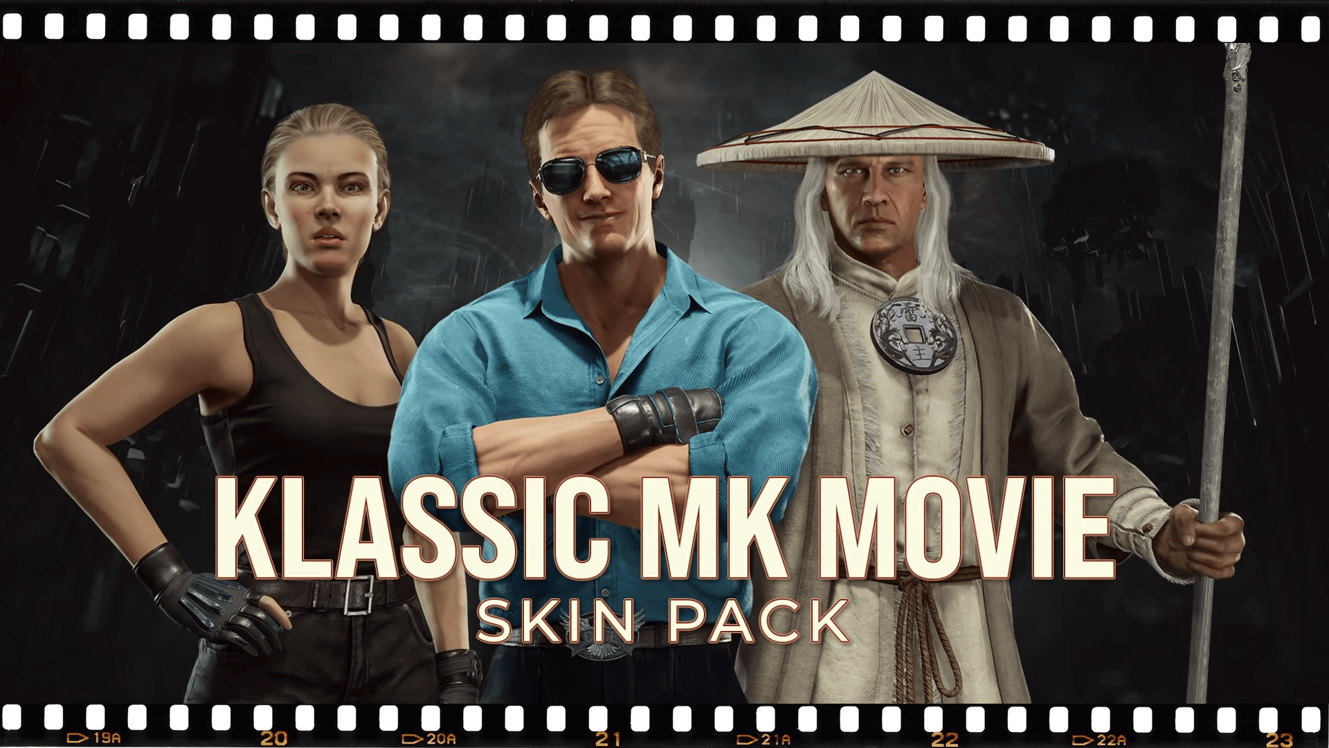 New Klassic Skins coming to MK11 Movie Sonya, Cage, and Raiden!