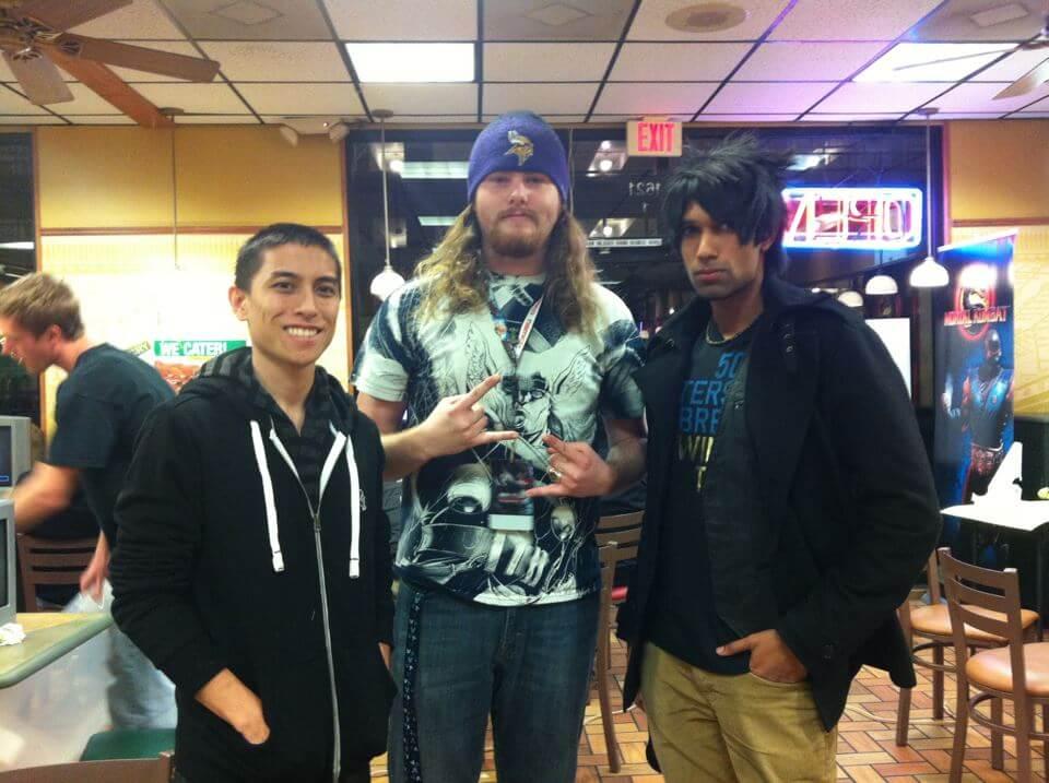 Brandon Alexader at the Subway Fight Night
