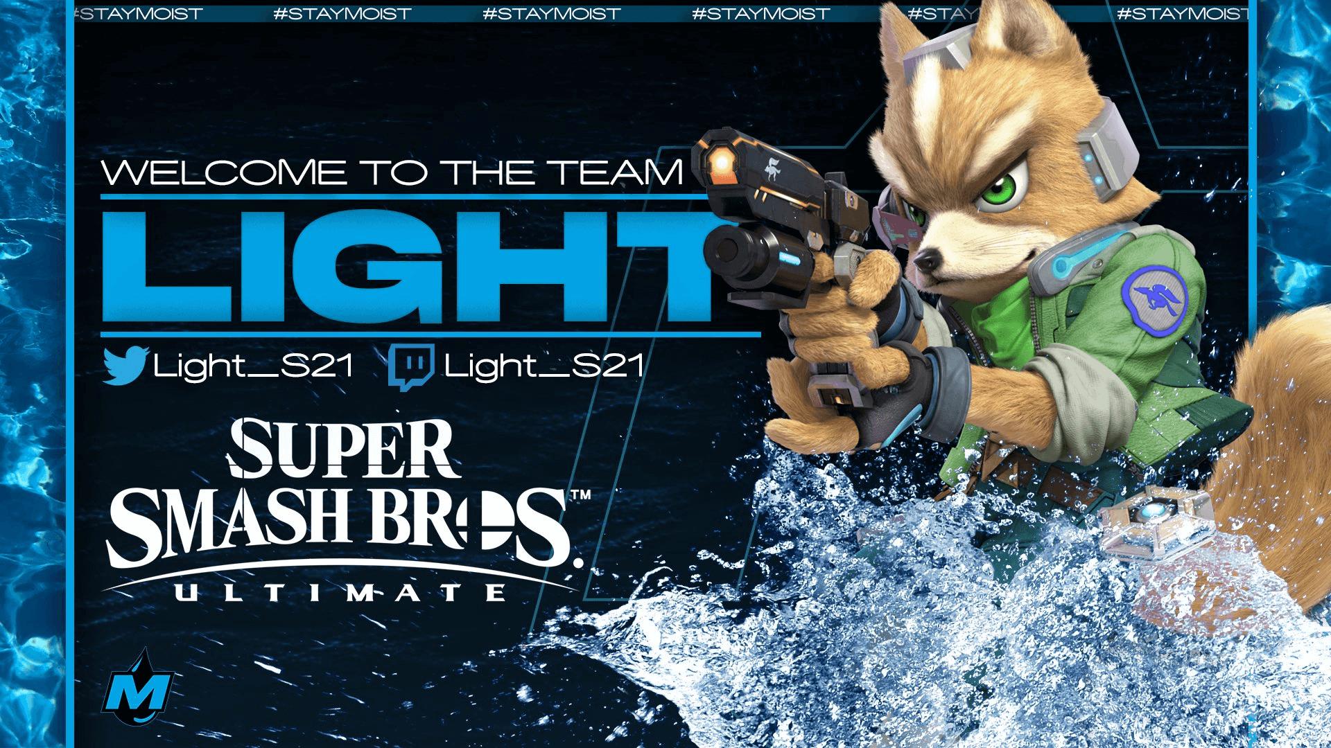 Smash Ultimate Pro Player Light Joins Moist Esports